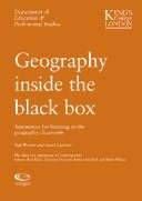 Geography inside the black box (The Black Box Assessment for Learning series): Paul Weeden