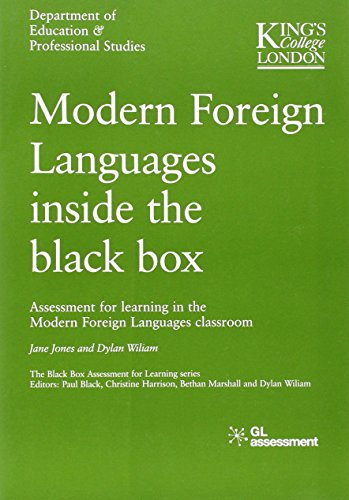 9780708717653: Modern Foreign Languages Inside the Black Box: Assessment