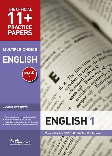 9780708719848: 11+ Practice Papers, English Pack 1, Multiple Choice