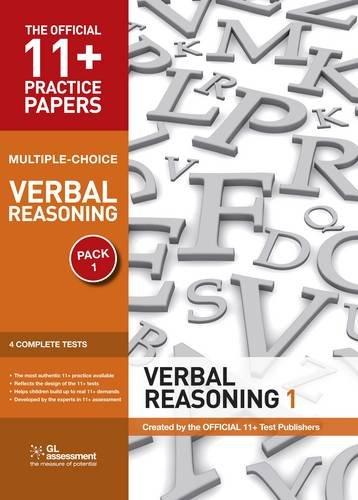 9780708719879: 11+ Practice Papers, Verbal Reasoning Pack 1, Multiple Choice: Test 1, Test 2, Test 3, Test 4 (The Official 11+ Practice Papers)