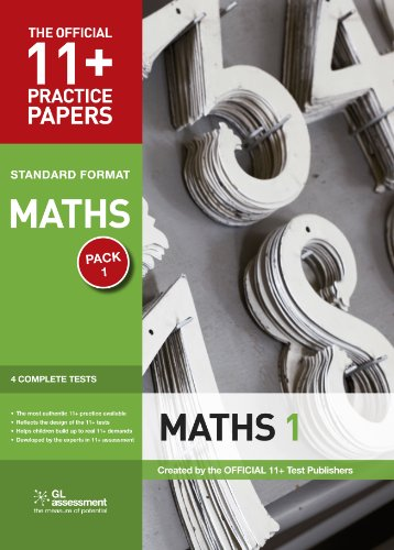 9780708719886: 11+ Practice Papers, Maths Pack 1, Standard: Test 1, Test 2, Test 3, Test 4 (The Official 11+ Practice Papers)