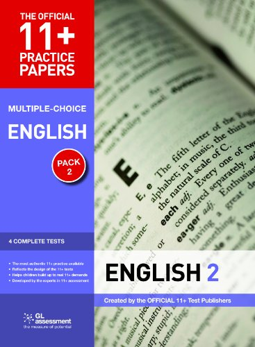 9780708720462: 11+ Practice Papers English Pack 2 (Multiple Choice): English Test 5, English Test 6, English Test 7, English Test 8 (The Official 11+ Practice Papers)