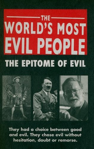 9780708807453: World's Most Evil People: The Epitome of Evil