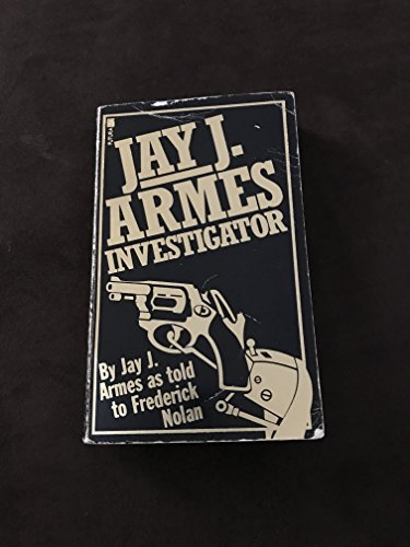 9780708813225: Jay J.Armes, Investigator: World's Most Successful Private Eye