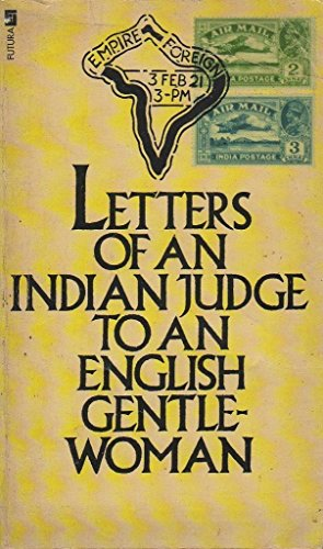 9780708813355: Letters of an Indian Judge to an English Gentlewoman
