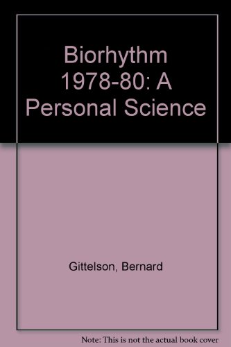 9780708813652: BIORHYTHM: A PERSONAL SCIENCE