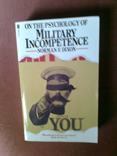 9780708814826: On the Psychology of Military Incompetence