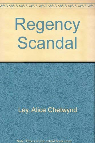 9780708815403: Regency Scandal