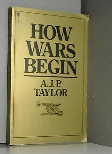 9780708816158: How Wars Begin