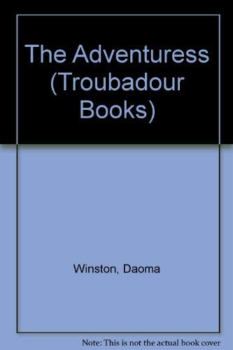 9780708816257: The Adventuress (Troubadour Books)