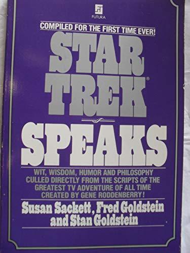 9780708817377: Star Trek Speaks