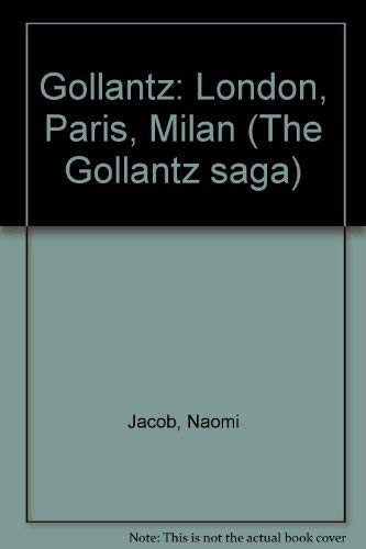 9780708826935: Gollantz: London, Paris, Milan (The Gollantz saga)