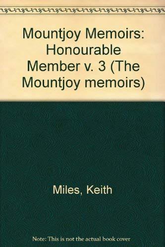9780708829233: Mountjoy Memoirs