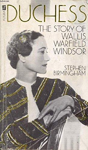 9780708830734: Duchess: Story of Wallis Warfield Windsor