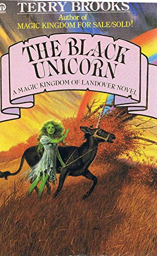 BLACK UNICORN (0708835872) by Terry Brooks