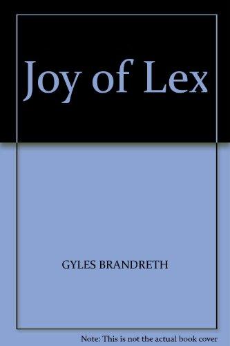 9780708840580: Joy of Lex