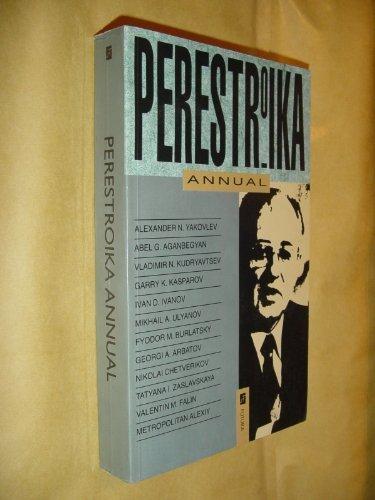Perestroika Year Book: Aganbegyan, Abel (ed)