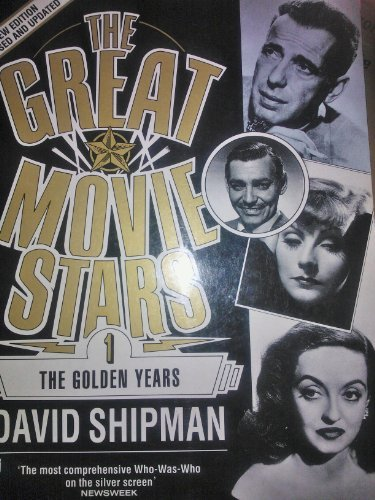 9780708843970: The Great Movie Stars: The Golden Years v. 1