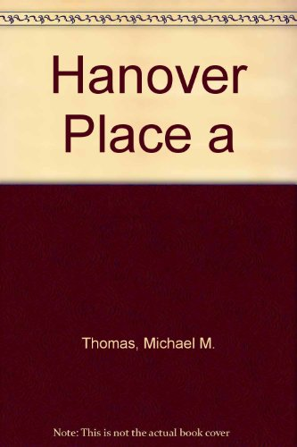 9780708849378: Hanover Place a