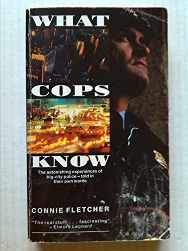 9780708849736: What Cops Know