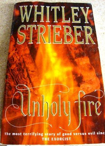 9780708853870: Unholy Fire