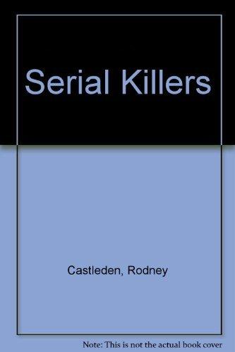 9780708861165: Serial Killers