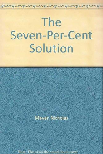 9780708900529: The Seven-Per-Cent Solution (U)