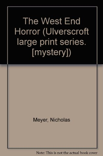 9780708900987: The West End Horror (U)