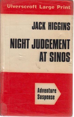9780708901496: Night Judgement At Sinos (U)