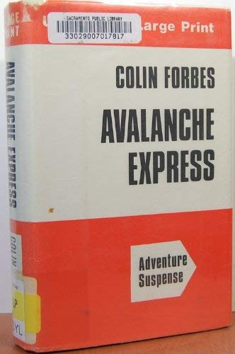 9780708901694: Avalanche Express