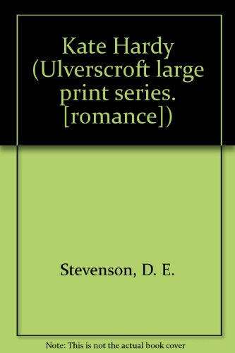 9780708901946: Kate Hardy (Ulverscroft large print series. [romance])