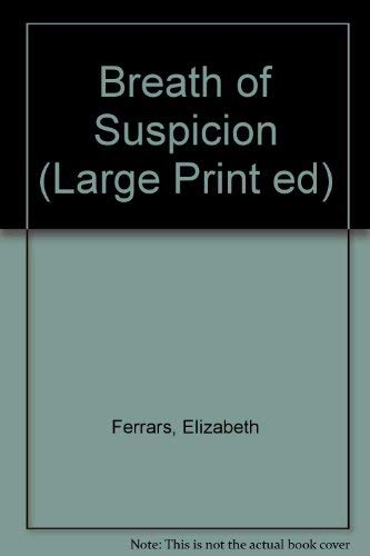9780708903797: Breath Of Suspicion (U) (Large Print ed)