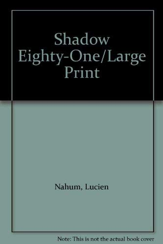 9780708905562: Shadow Eighty-One/Large Print