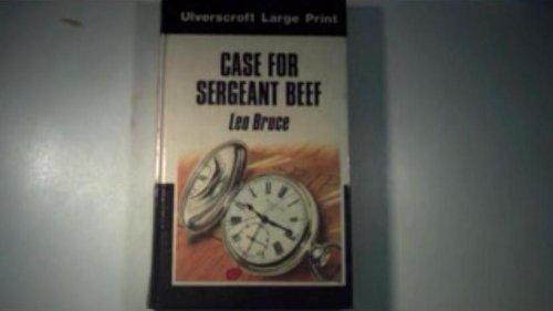 9780708908426: Case For Sergeant Beef (U)