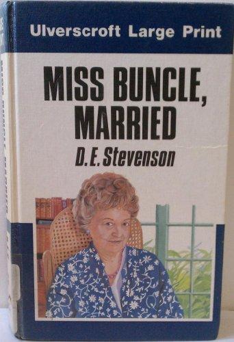 9780708908761: Miss Buncle, Married (U)