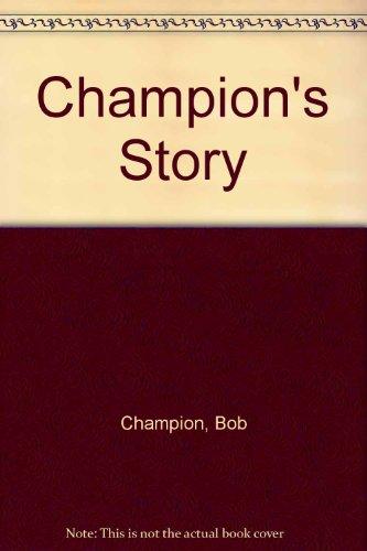 9780708909133: Champion's Story