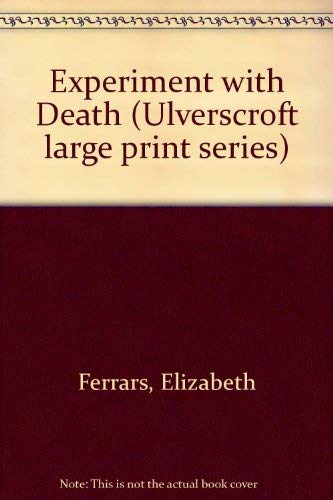 9780708909287: Experiment with Death (Ulverscroft large print series)