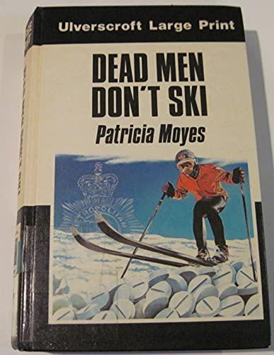 9780708910061: Dead Men Don't Ski (Ulverscroft large print series)