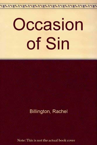 9780708911235: Occasion of Sin