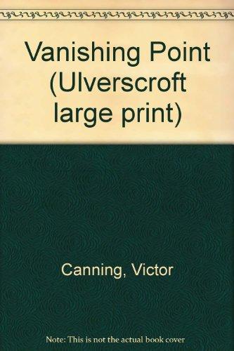 9780708911556: Vanishing Point (Ulverscroft large print)