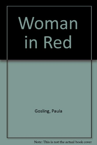 9780708911693: Woman in Red