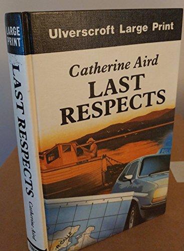 9780708911808: Last Respects