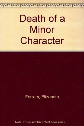 9780708912256: Death of a Minor Character