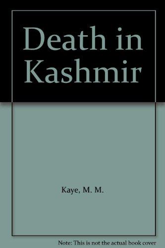 9780708914014: Death in Kashmir