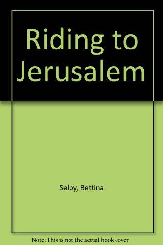 9780708915493: Riding To Jerusalem (U)