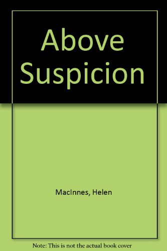 9780708916421: Above Suspicion