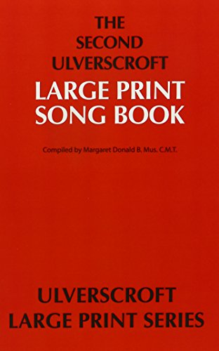 9780708916780: The Second Ulverscroft Large Print Songbook