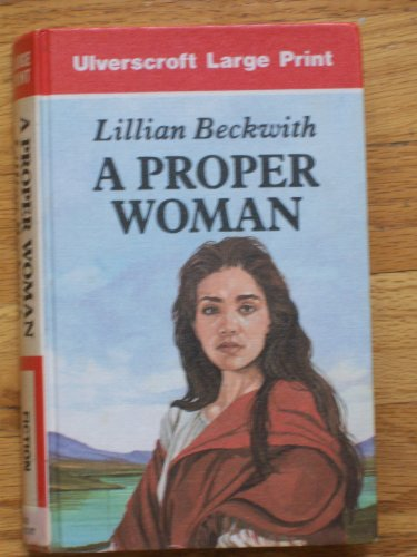 9780708917404: A Proper Woman (U)