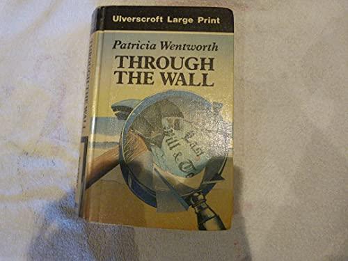 9780708918265: Through the Wall