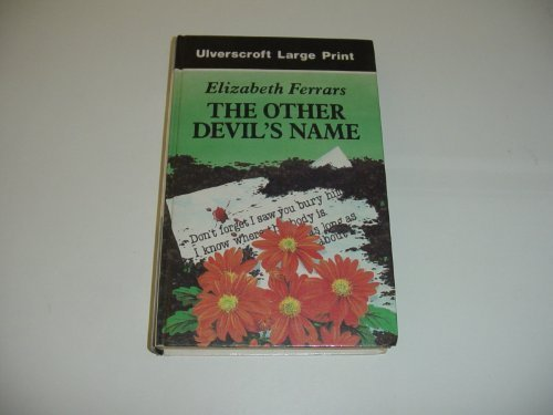 9780708918333: The Other Devil's Name (U)